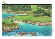 Pebble Beach 15th Hole-south Carry-all Pouch
