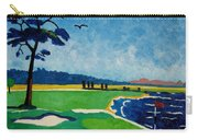 Pebble Beach 18 California Carry-all Pouch by Lesley Giles