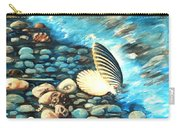 Pebble Beach And Shells Carry-all Pouch