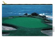 Pebble Beach Golf Course 8th Green Carry-all Pouch