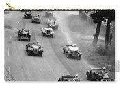 Pebble Beach California Sports Car Races Auto Road Race April 11 1954 Carry-all Pouch