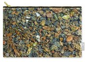 Pebbled Shore At Ullapool Carry-all Pouch