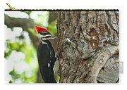 Pecking Woodpecker Carry-all Pouch