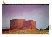 Pecos Mission Landscape Carry-all Pouch