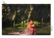 Pedernales Park Texas Bathing Cardinal Carry-all Pouch