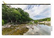 Pedernales River - Downstream Carry-all Pouch