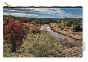 Pedernales River In Autumn Carry-all Pouch