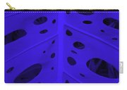 Peek-a-boo Leaf In Purple Carry-all Pouch