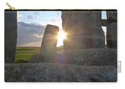 Peek-a-boo Sun At Stonehenge Carry-all Pouch