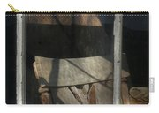 Peek Into The Past Carry-all Pouch by Sandra Bronstein