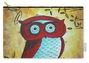 Peekaboo By Madart Carry-all Pouch by Megan Duncanson
