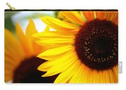 Peekaboo Sunflowers Carry-all Pouch