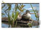 Peeking Ducks Carry-all Pouch