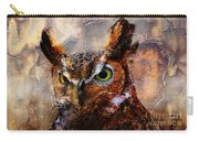 Peeking Owl Carry-all Pouch