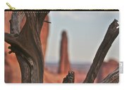 Peeking Through To Park Ave At Arches National Monument Carry-all Pouch