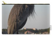 Peer - Great Blue Heron Carry-all Pouch
