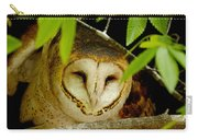 Peering Barn Owl Carry-all Pouch