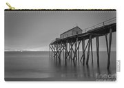 Peering Through The Clouds Bw Carry-all Pouch