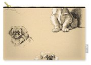 Pekes, 1930, Illustrations Carry-all Pouch