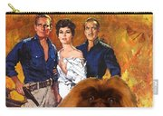 Pekingese Art - 55 Days In Peking Movie Poster Carry-all Pouch