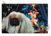 Pekingese Art - Star Wars Movie Poster Carry-all Pouch