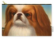 Pekingese Carry-all Pouch by James W Johnson