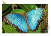 Peleides Blue Morpho Carry-all Pouch