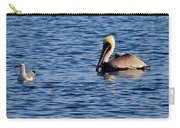 Pelican And Gull Carry-all Pouch