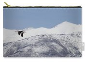 Pelican And Mountains Carry-all Pouch