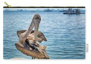 Pelican At Avila Beach Carry-all Pouch