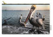 Pelican At The Pier Carry-all Pouch