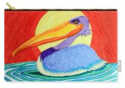 Pelican In The Sun  Carry-all Pouch
