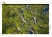 Pelican In The Trees Carry-all Pouch