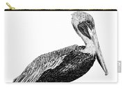Monterey Pelican Pooping Carry-all Pouch