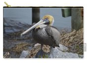 Pelican On Rocks Carry-all Pouch