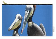 Pelican Pair At Oceanside Pier Carry-all Pouch