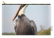 Pelican Pose Carry-all Pouch by Carol Groenen