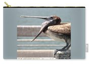Pelican Yawn - Digital Painting Carry-all Pouch