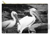 Pelicans - Bw Carry-all Pouch