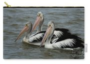 Pelicans In Australia 3 Carry-all Pouch
