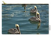 Pelicans On The Water In Key West Carry-all Pouch