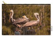 Pelicans On Watch Carry-all Pouch