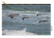 Pelicans Over The Water Carry-all Pouch