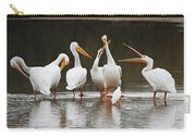 Pelicans Singing Auld Lang Syne Carry-all Pouch