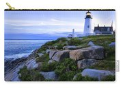 Pemaquid Light At Sunset Carry-all Pouch