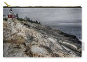 Pemaquid Light Carry-all Pouch by Joan Carroll