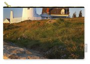 Pemaquid Point Lighthouse Carry-all Pouch by Brian Jannsen