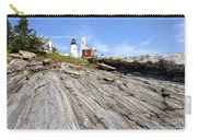 Pemaquid Point Lighthouse In Maine Carry-all Pouch