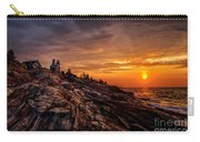 Pemaquid Sunrise  Carry-all Pouch by Jerry Fornarotto