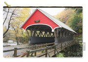 Pemigewasset River Covered Bridge In Fall Carry-all Pouch